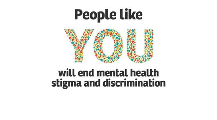 People like YOU will end mental health stigma and discrimination
