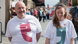 Walking, Talking and Cake to Change the way People Think About Mental Health in the Borders