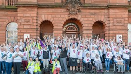 Join us to Walk a Mile in North Lanarkshire