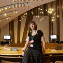 Gemma at the Scottish parliament