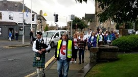 Peebles Residents Urged to Come Out To Walk, Talk About Mental Health and Eat Cake